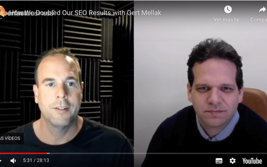 How we doubled James Schramko's SEO