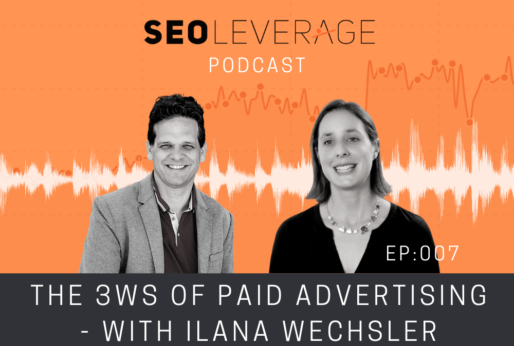 007 – The 3Ws of Paid Advertising – with Ilana Wechsler