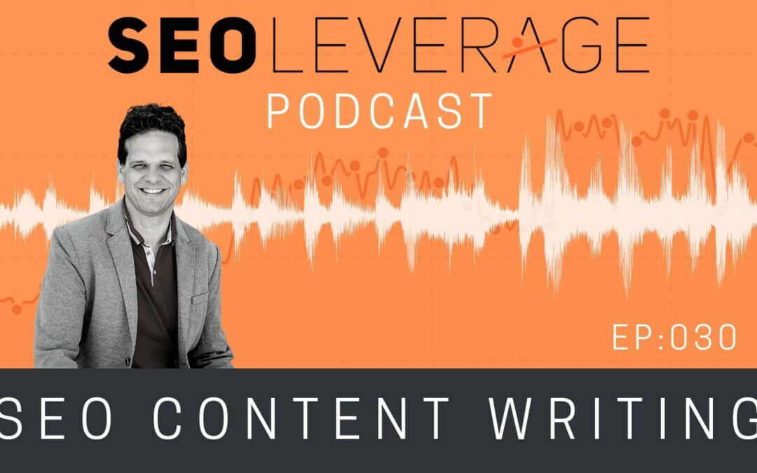030 - SEO Content Writing